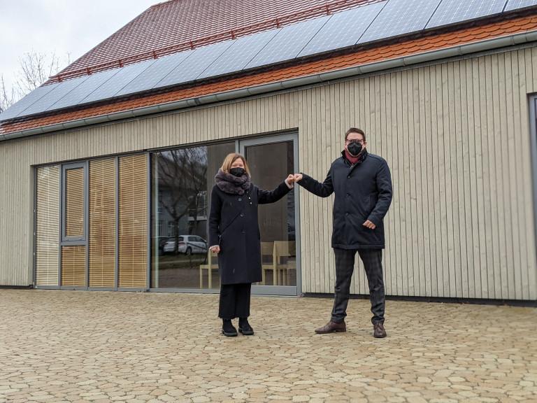 In der Dietrich-Bonhoeffer-Kirche-Wenzenbach sollen ältere und weniger mobile Bürger:innen geimpft werden können